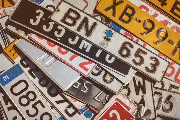 Auto – nummerplaat