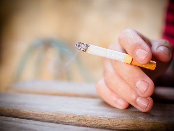 Nicotine op de huid