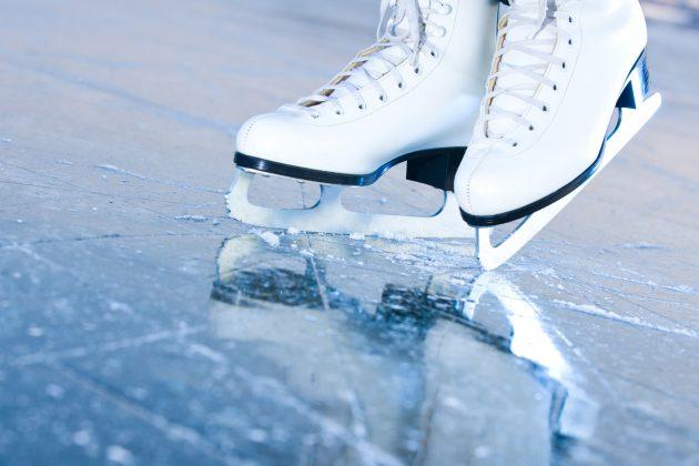 Roest op schaatsen