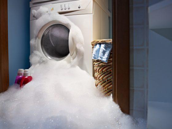 Schuim – wasmachine