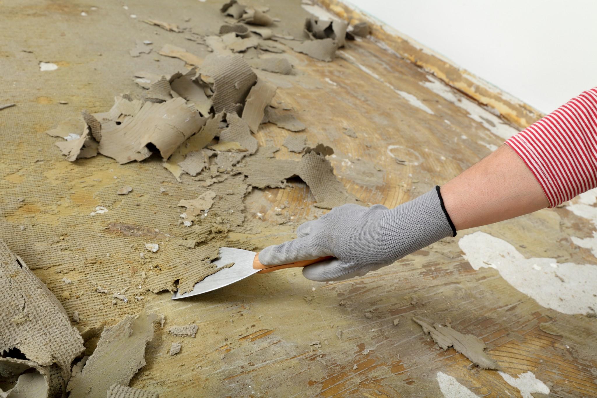 Tapijtlijm verwijderen de gouden raad van tante kaat - Pvc fliesen asbest ...