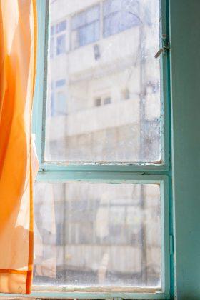 Kalk op ramen